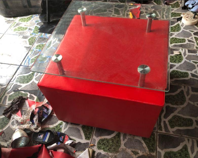 Thanh lý bàn sofa cũ vuông cao cấp