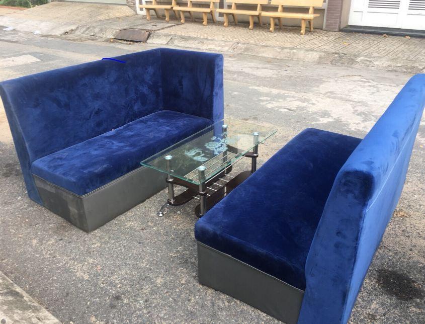 Thanh lý sofa bộ sofa phòng khách M02 mới 90%